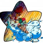 Ace, Frozen y los malos por ArtBond