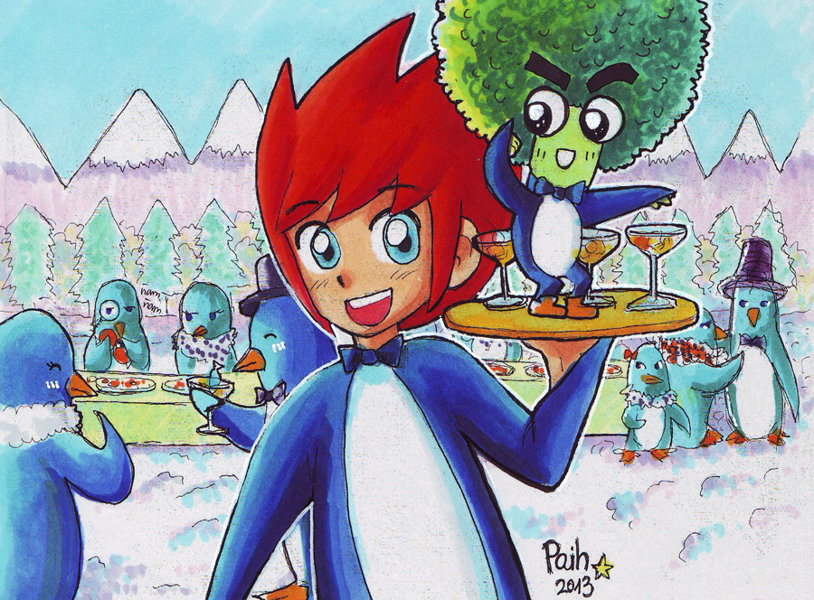 Penguinville infiltration – Paih